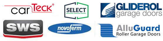 we sell all these manufacturers garage doors
